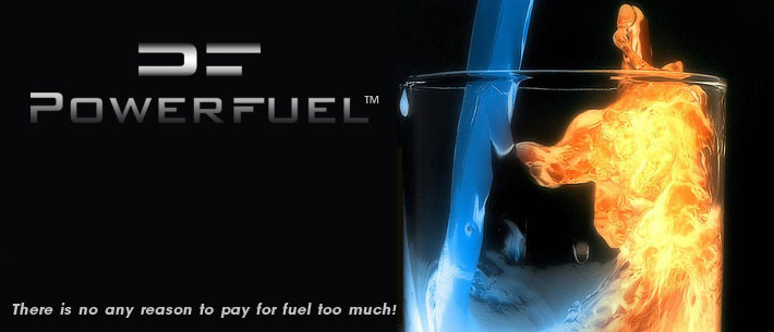 save fuel with PowerFuel concept